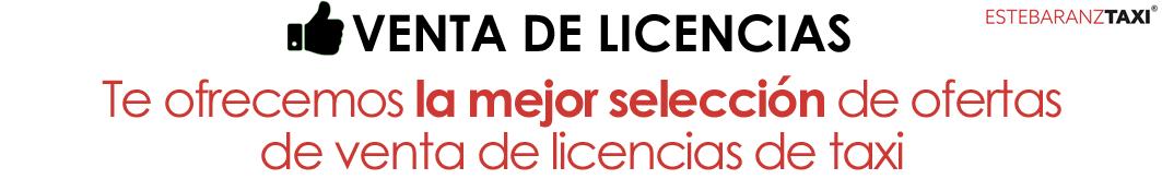 Venta de licencias de taxi